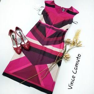 ⬇️$60 Vince Camuto BodyCon Sheath ColorBlock Dress